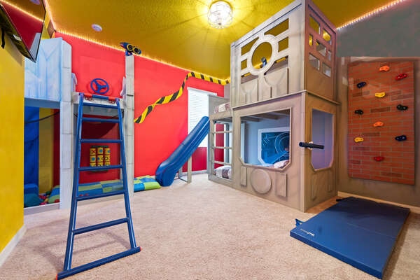 Kid's will love having their own play area