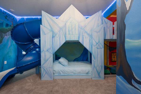Custom-built kids bedroom