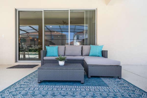 Luxurious outdoor patio furniture