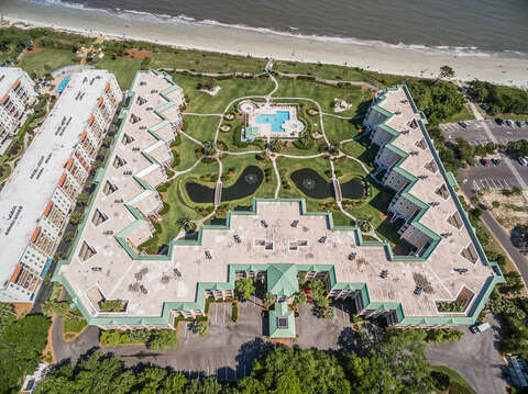 Aerial Picture of St. Simons Grand.