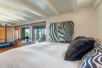 Master bed on 1st Floor.