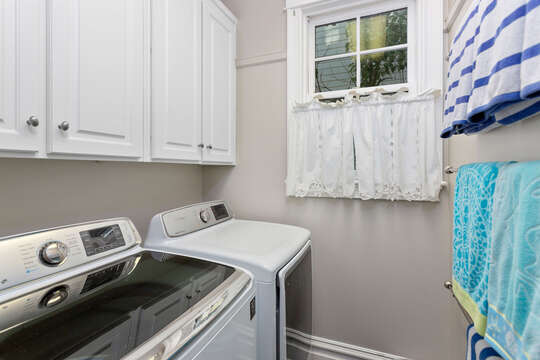 Laundry Area Features Washer and Dryer.