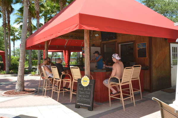 On-site facilities:- Poolside tiki bar