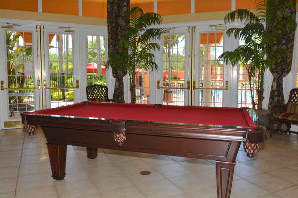 On-site facilities:- Pool table