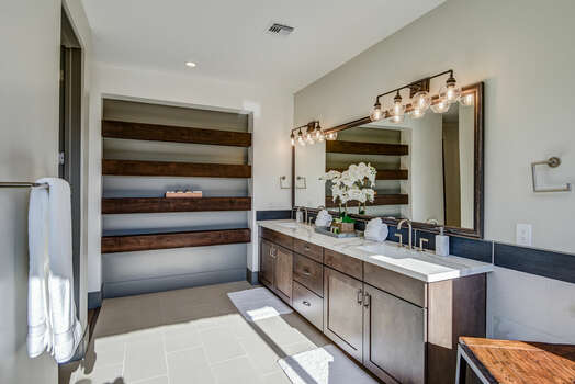 Master Bath Offers Plenty of Natural Light