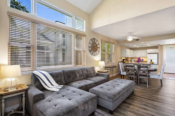 Great room, Open concept living