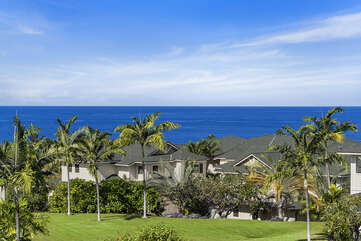 Beautiful Ocean views from Na Hale E6!