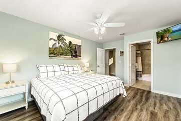 Bedroom 2 King can convert to twin upon request/fee