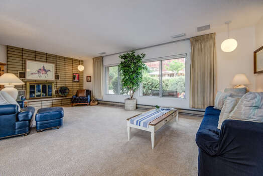Comfortable Furnishings, Including a Queen Sleeper Sofa, and Plenty of Red Rock Views and Natural Light