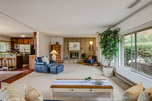 One Level Rancher - Entry into Main Living Area