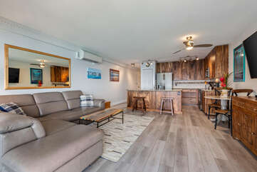 Open concept design in this beautifully updated unit