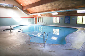 Clubhouse 1 indoor Pool and Hot Tub