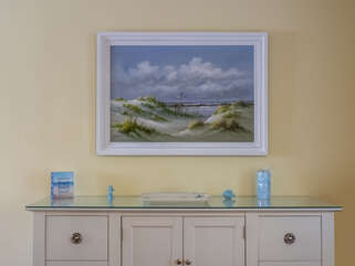 Dining Room Buffet Table and Seascape