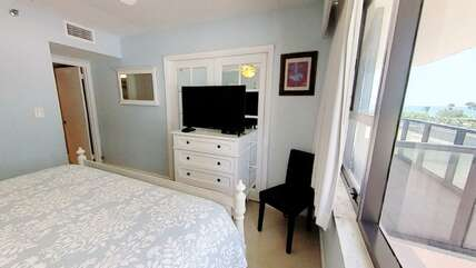 1st Bedroom with king-size bed