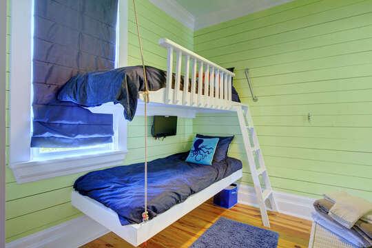 Bedroom with Bunker Beds.