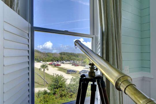 Telescope in the Window.