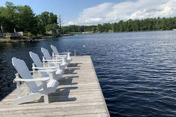 Relax on the Dock, Tea Lake