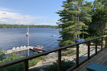 Lake view from Deck, Tea Lake