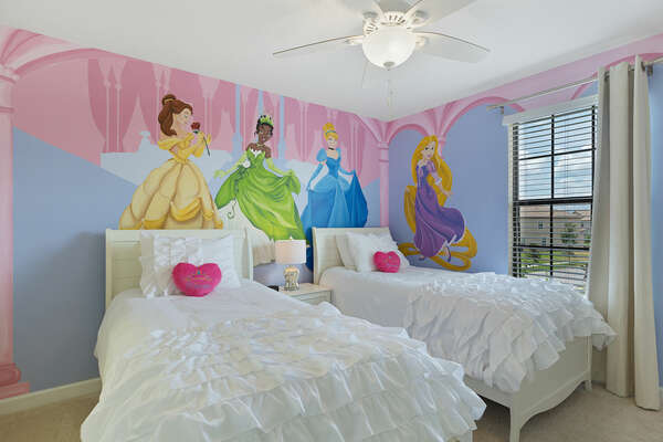A royal children`s bedroom