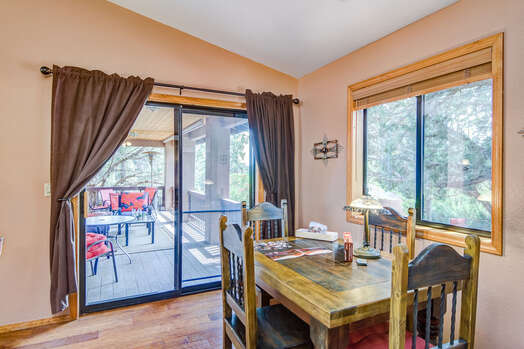 Patio Access from the Dining Room