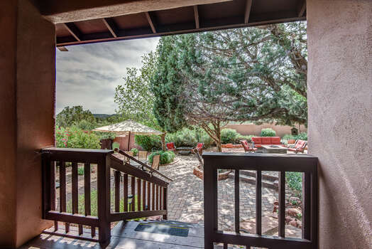 Large Private Yard with Impeccable Landscaping and