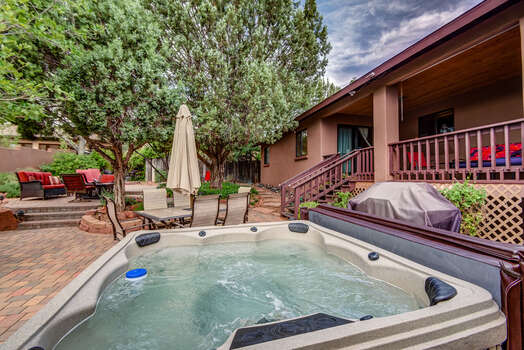 Relax in The Brand New Hot Tub