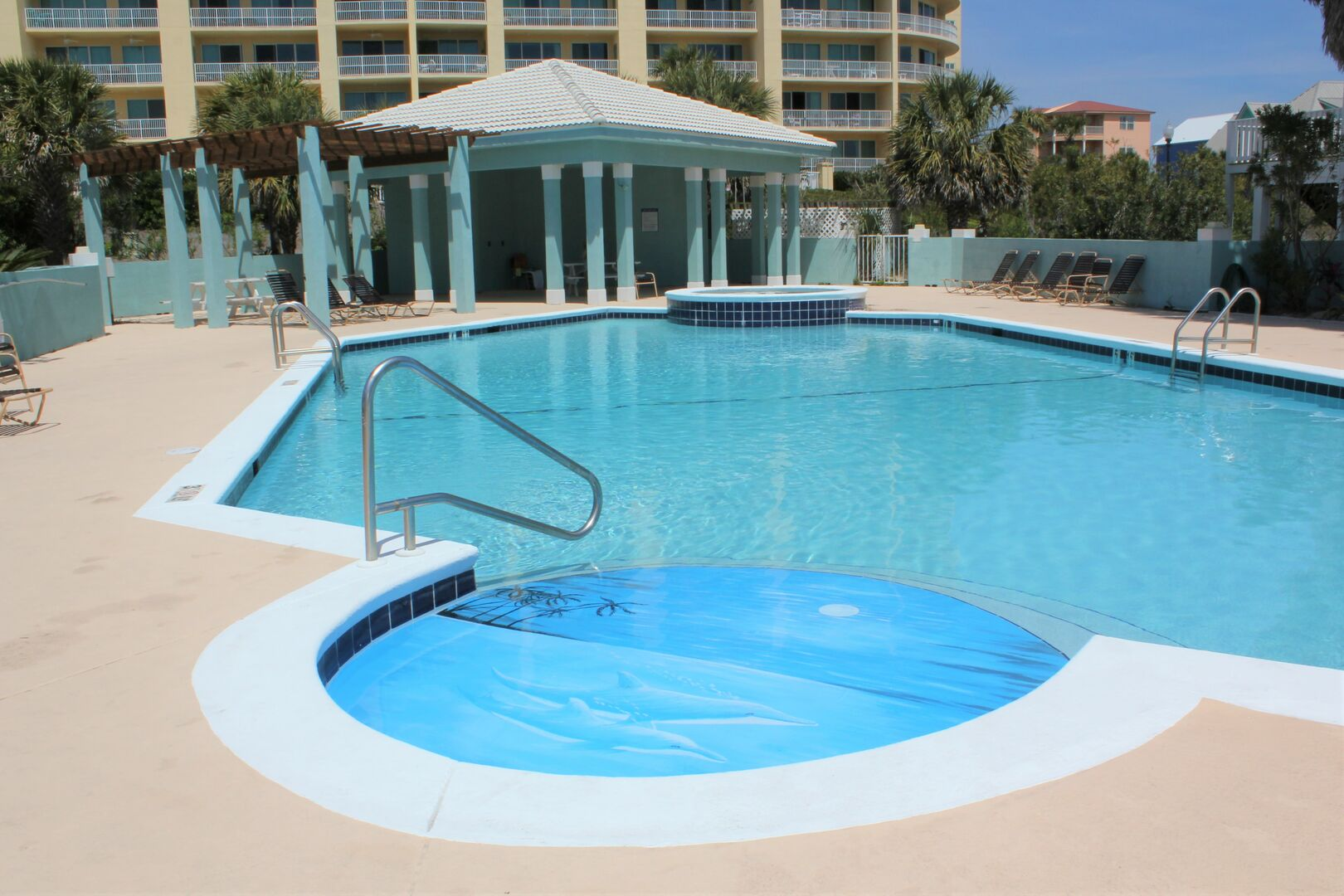 Guests Can Enjoy the Community Pool.