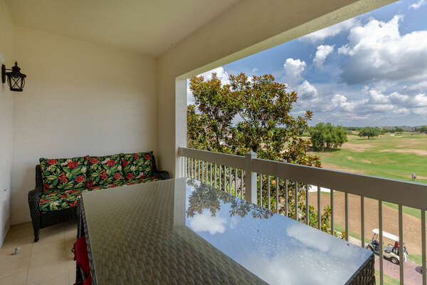 A 3 bedroom condo with gorgeous views from your own private balcony