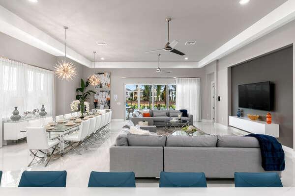 Modern furnishings will take your breath away