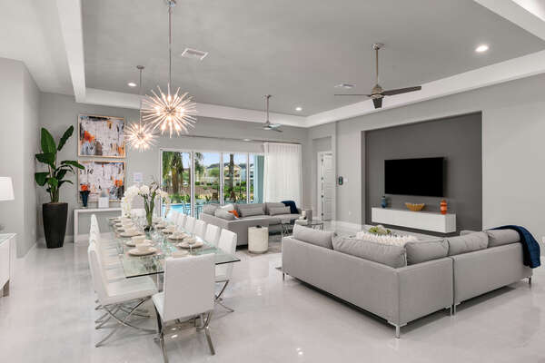 You'll get closer to your family with plenty of gathering space