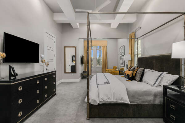Feel like royalty in the Master Suite, complete with an ensuite bathroom