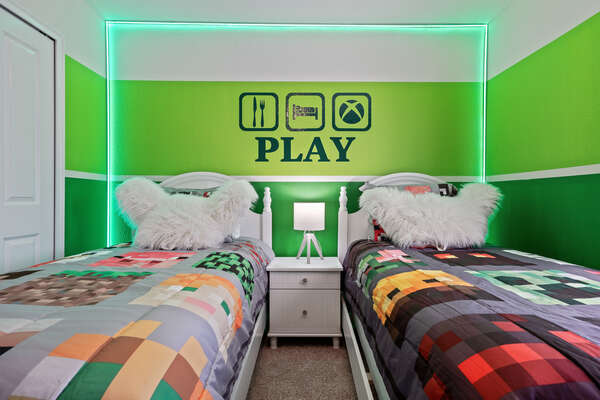 Kids won't argue when its time to go to bed in this room!
