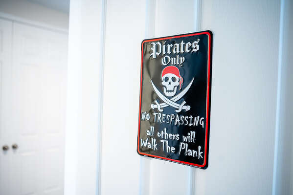 No trespassing! Pirates only allowed