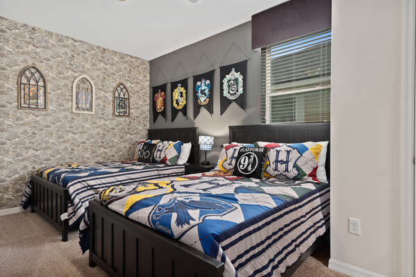 Magical themed bedroom
