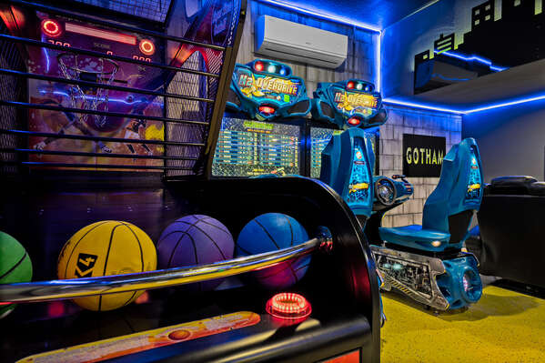 There are tons of arcade games for all