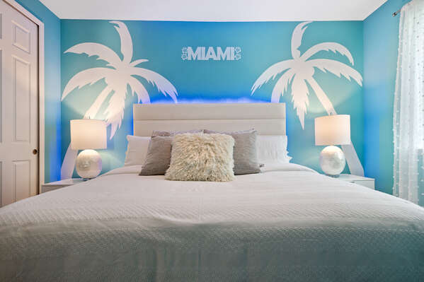 Themed on the city of Miami