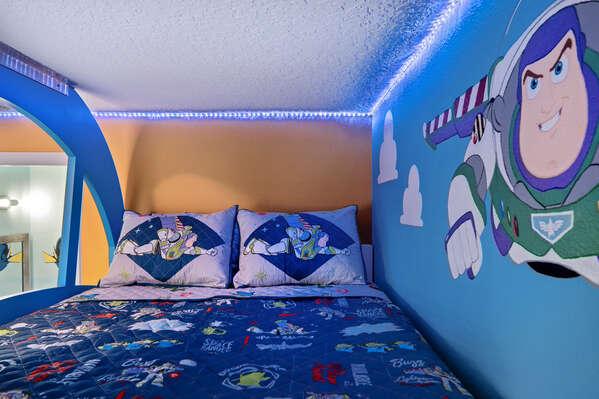 Kids will be sleeping peacefully beside their favorite characters