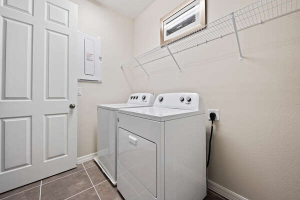 Laundry room for your convenience