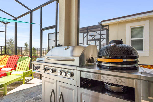 State of the art grill