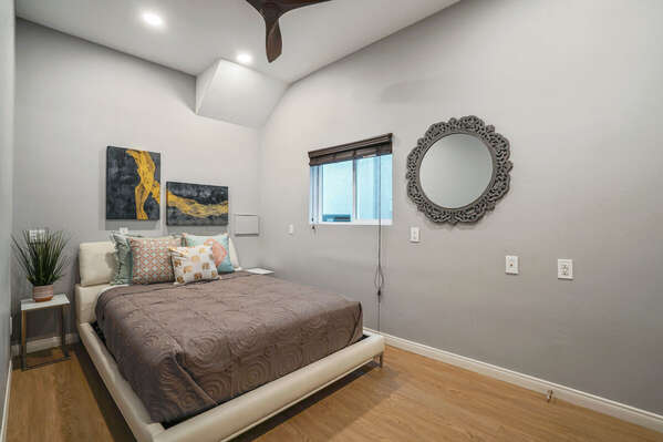 Master Bedroom on the First Floor