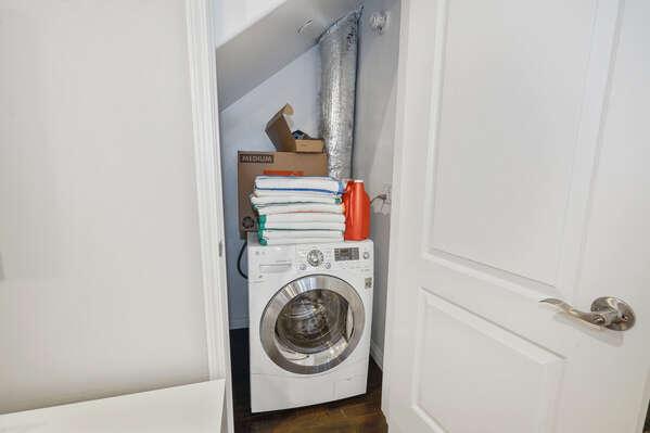 Combo Washer/Dryer - Second Floor