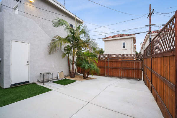 Gated Parking at this Vacation Home Rental San Diego