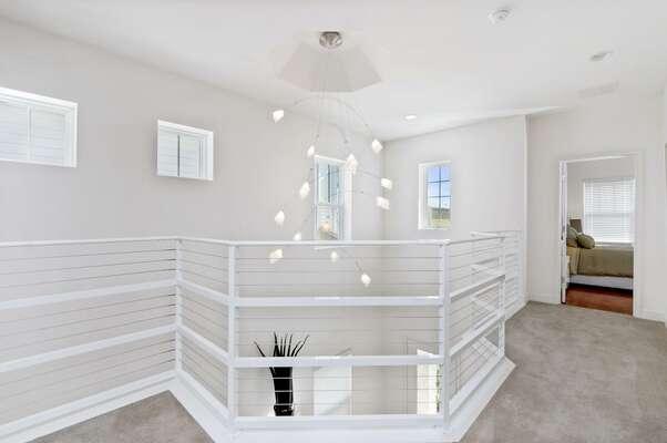 Upstairs overlook