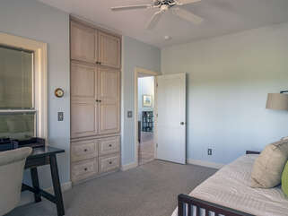 Office/Guest bedroom with twin daybed and twin trundle