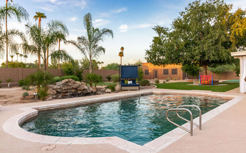 Picture of the Pool of our Resort Rental Scottsdale.