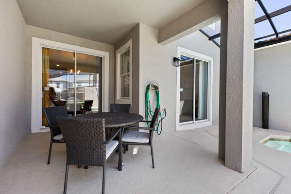 Have direct access  from the living room to the lanai