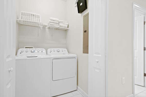 Washer and dryer for you convenience
