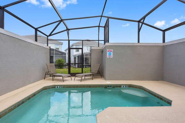 Lounge and take in the Florida sun