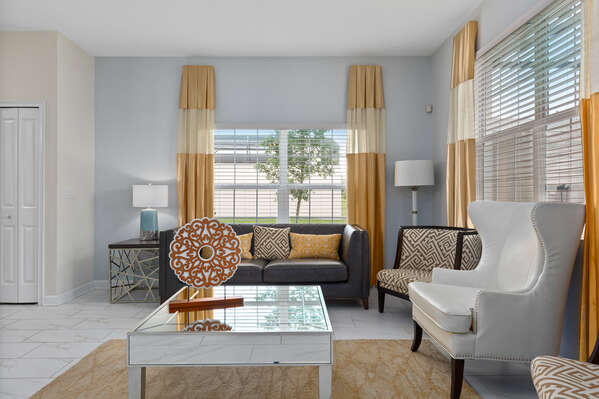 Luxury furnishings throughout the home