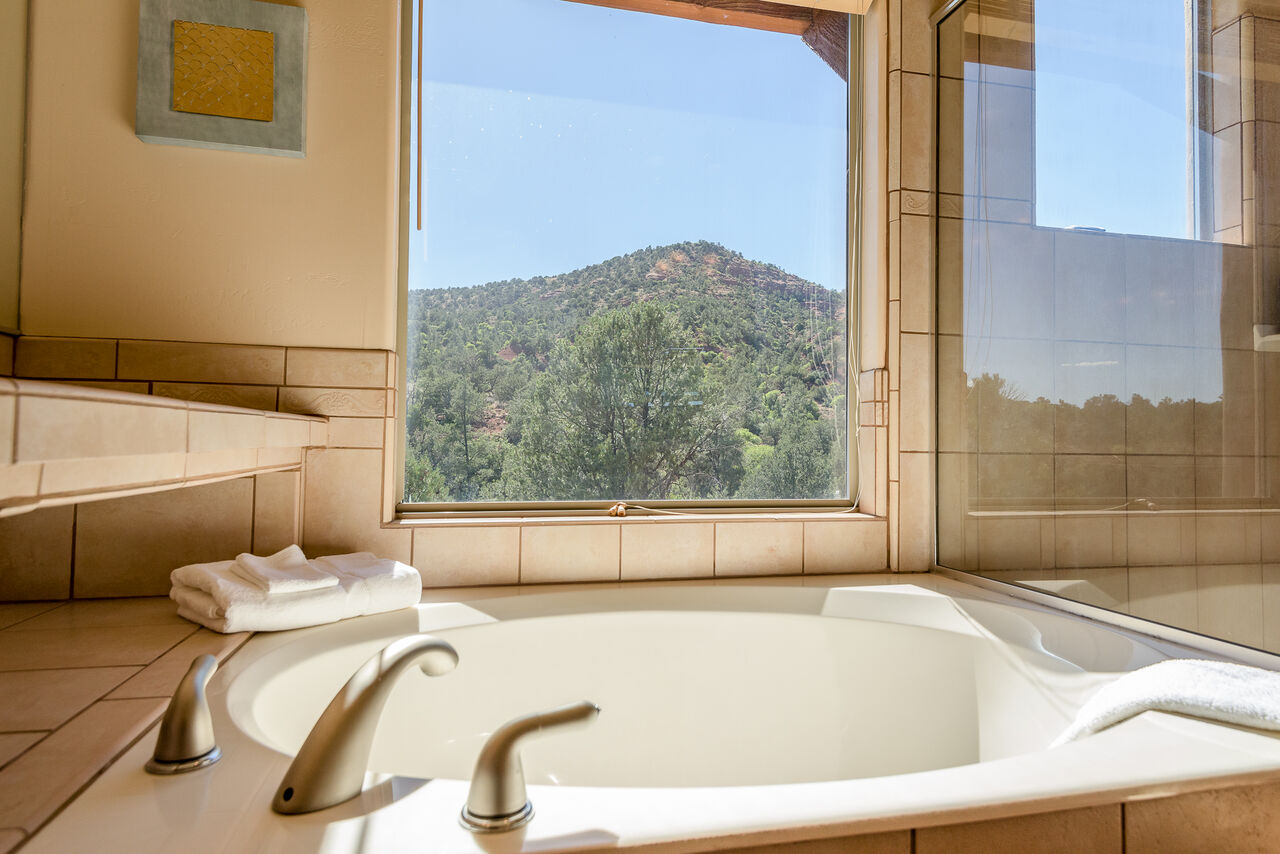 Soak in the Tub and Soak in the Views